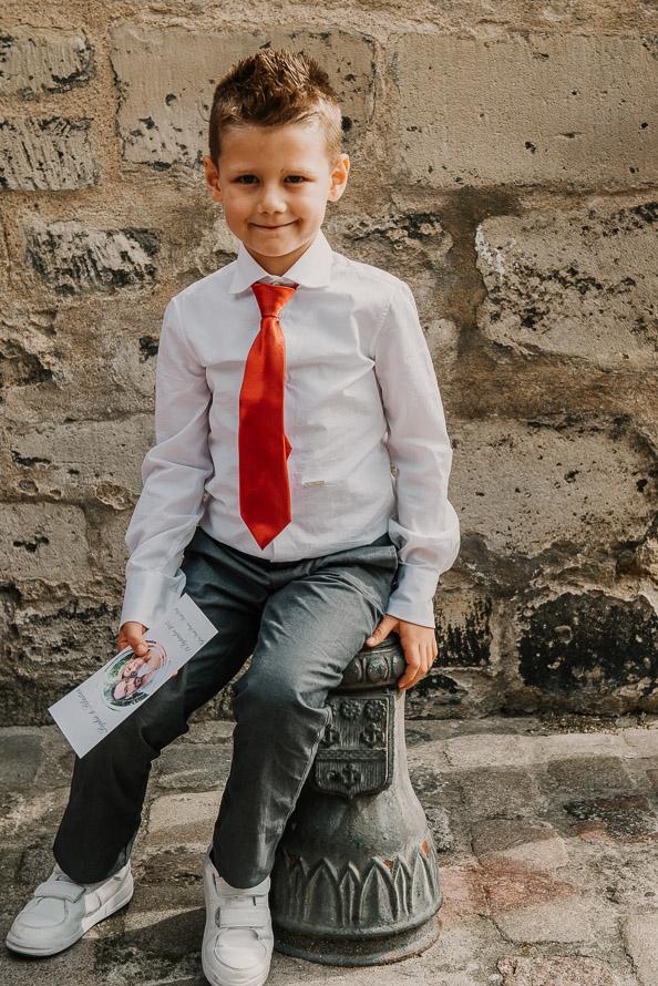 Enfant mariage photographe