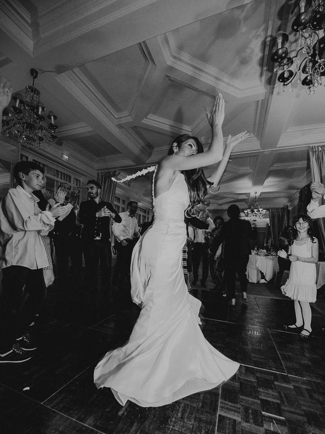 Soirée mariage danse pavillon Henri 4