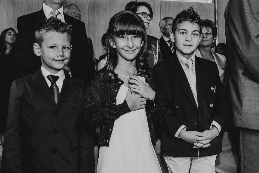 Enfant à la mairie mariage Paris