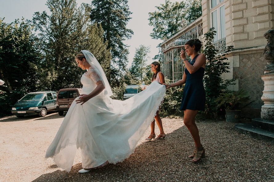 Eglise mariage Brézé