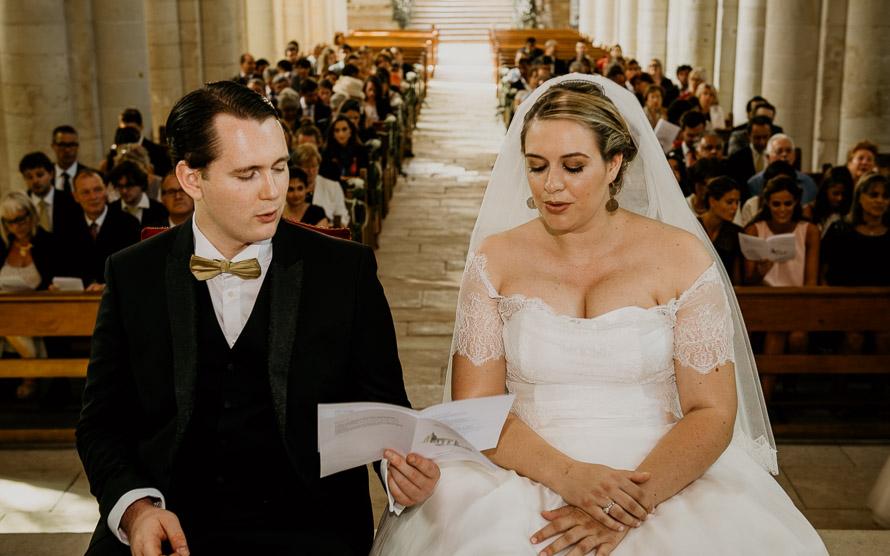 Photographe mariage église de Brézé