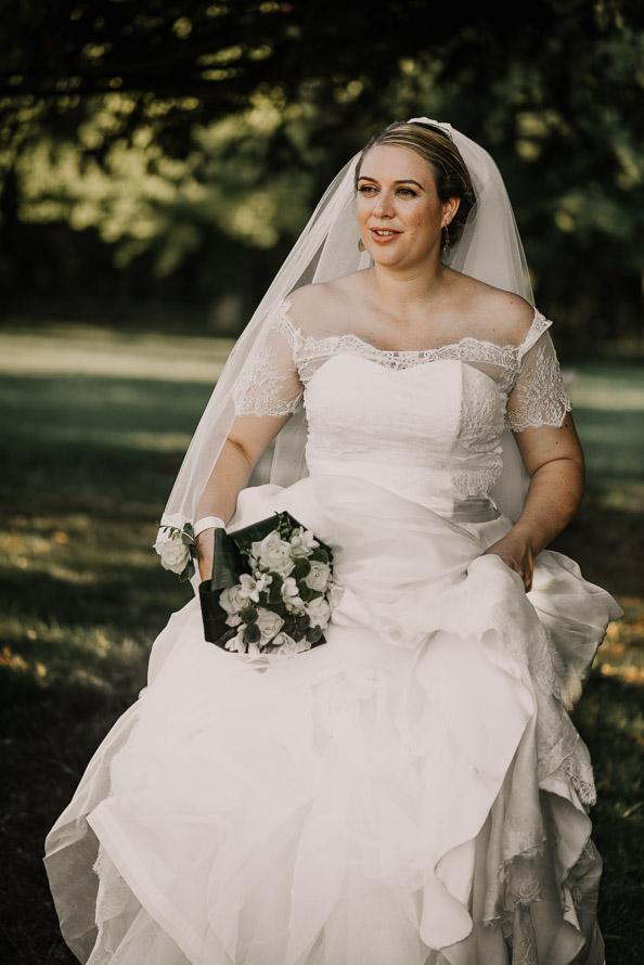 Photographe mariée château de Brézé